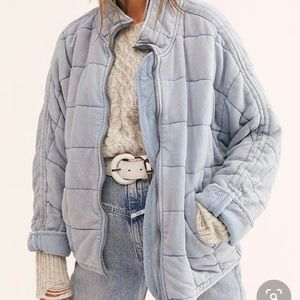 COPY - Dolman quilted jacket free people